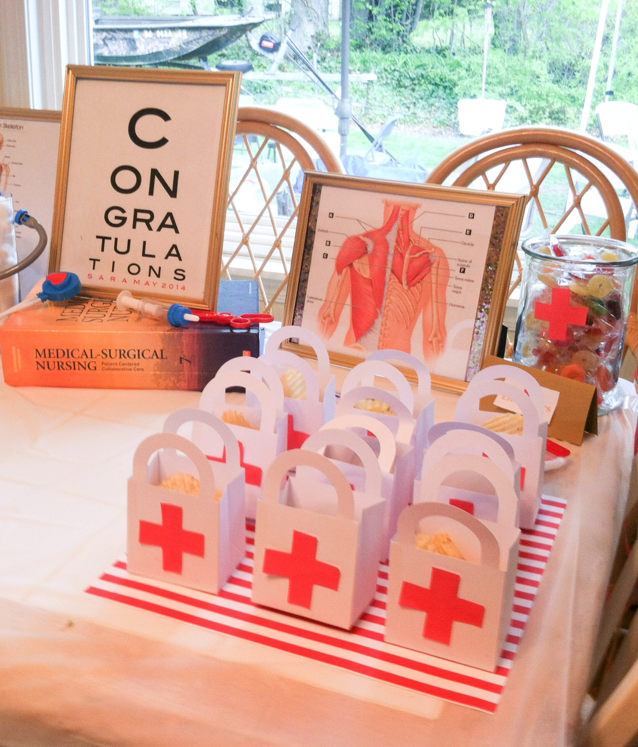 Inspiration for a Nurse/Medical-Themed Party | My Chic Sunday
